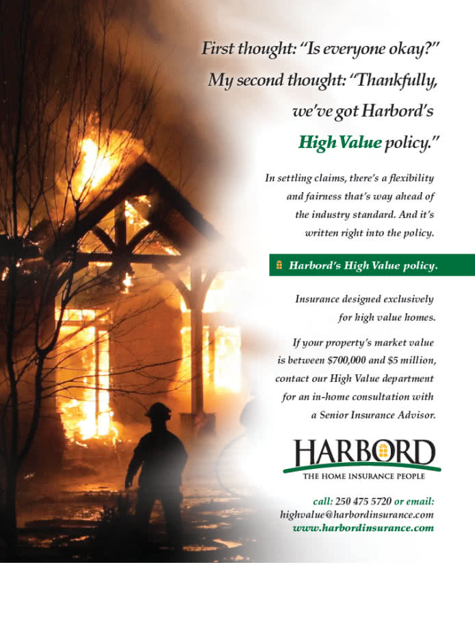 Harbord's high value home insurance policy