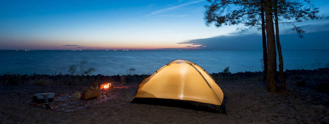 camping trip 2020 home insurance safety