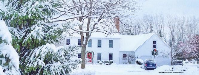 protecting your home from the winter snow